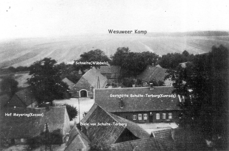 Wesuwe im Jahr 1938
